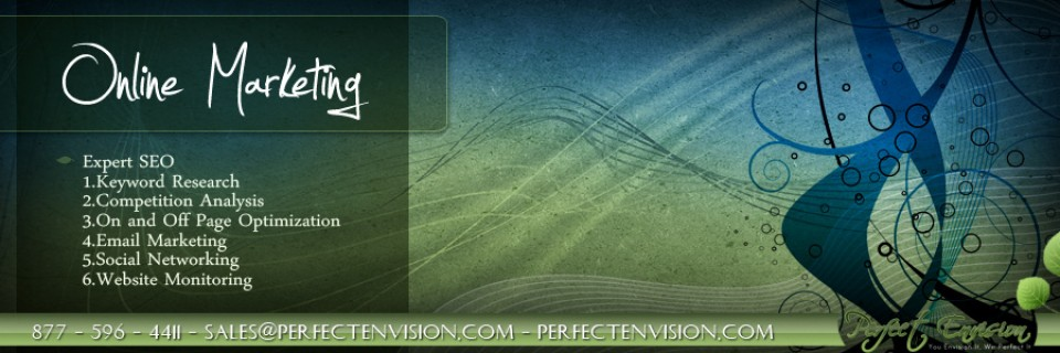 Perfect Envision Online Marketing Banner